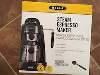 Brand new Bella expresso coffee maker Sterling, 20165