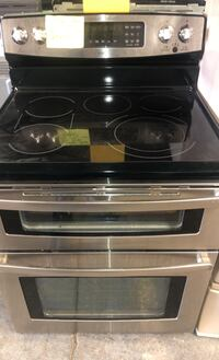 KENMORE stainless steel double oven electric stove  Baltimore, 21223