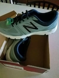 New Men's L.Grey New Balance Athletic Shoes Ocean Springs, 39564