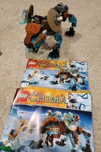 Lego Chima Sir Fangers Saber Tooth Tiger
