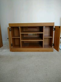 brown wooden TV stand with cabinet Hinsdale, 60521