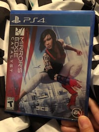 Mirrors edge ps4 game