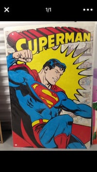 Dc comics superman comic book Poster Richmond, 77082