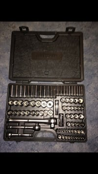 New Craftsman socket wrench set in case