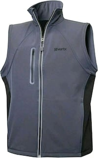 New Men's Vertx Soft-shell Vest, Shadow  Lake Forest