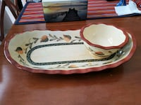 Serving Dish with Bowl