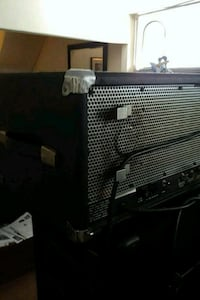 black and gray guitar amplifier Toronto, M1E 3C1