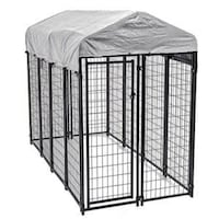 Dog Kennel Covered Used Winchester