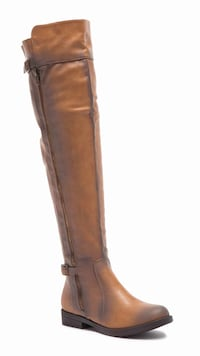 Brand new in box brown knee high boots Surrey, V3S 7M4