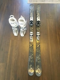 Skis, Ski boots (women) Stephenson, 22656