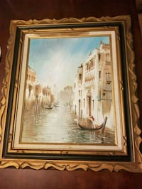 Canal oil painting  Waldorf, 20601
