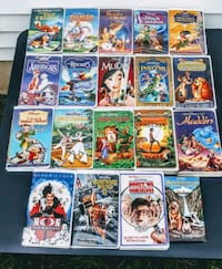 Disney  classic 19 vhs movies/Now $13