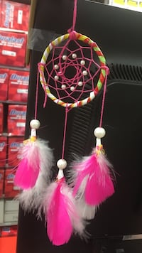 pink,white and green dreamcatcher 28 km