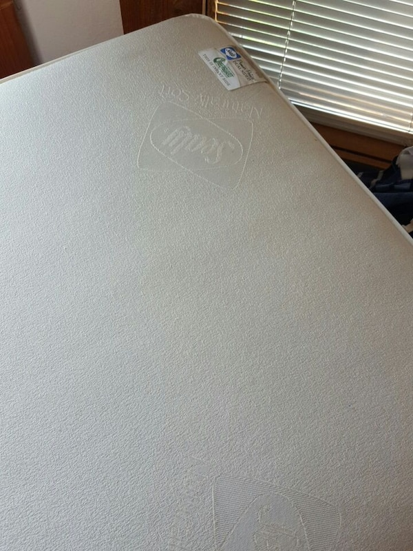 Used Sealy Naturally Soft Crib Mattress for sale in Pflugerville