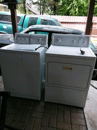 white washer and dryer set Indianapolis, 46241