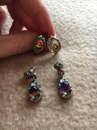 Matching ring and earring set Annandale, 22003