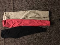 two black and pink pants Stockton, 95207