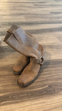 Frye Brown Leather Boots Los Angeles, 90038