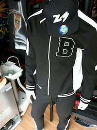 black and white Fox racing jacket Wilkes-Barre, 18701