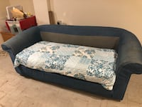 FREE blue pull out sleeper sofa