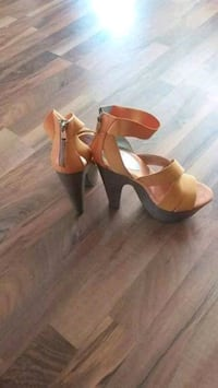 Jessica Simpson orange pumps Edmonton, T6W 0S7