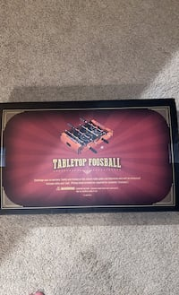 Table top foosball (never used)
