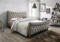 Brand New Queen Size Tufted Platform Bed Frame Silver Spring, 20910