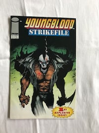 Youngblood Strikefile 1st Explosive Issue/ Youngblood Strikefile