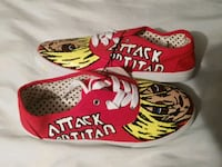 Attack on titan custom Annie shoes Oklahoma City, 73102