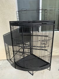 cage for parakeets or any bird with a lot of space for them