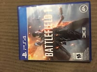 Battlefield 1 PS4 game case Edmonton, T6L 3J3