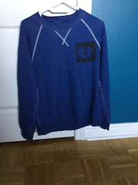 blue and white Nike zip-up jacket Caledon East, L7C 1G6