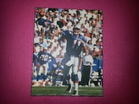 Drew Bledsoe Action shot Photo on Wood laminated  Montréal
