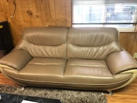 black leather 3-seat sofa Los Angeles, 91605