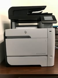 white and black HP desktop printer Hialeah, 33018