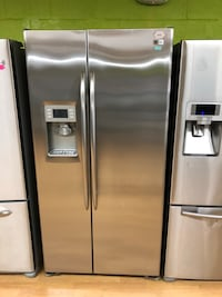 Stainless Steel GE Profile Side by Side Refrigerator  47 km