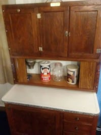 brown wooden cabinet with shelf Baltimore, 43105