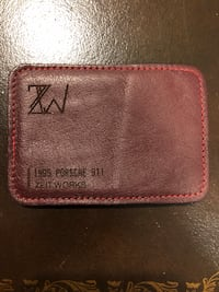 Zeit Works Porsche 911 Custom Wallet Vaughan, L4H 1A3