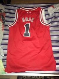 Derrick Rose rosso Jersey Chicago Bulls Limbiate, 20812