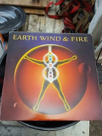 Earth Wind and Fire record Huntsville, 35810
