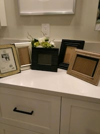 5 wooden and metal photo frames with glass. Maple Ridge, V2X 6B9