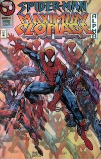 Spider-Man Maximum Clonage Alpha #1-1995
