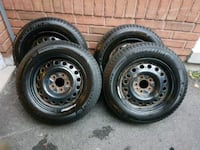 195/65R15 Michelin X-ice 3 Winter Tires w/Rims Georgina, L4P 4B1