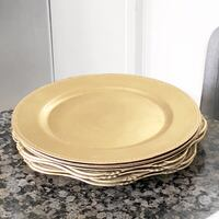 Palate & Plates Gold Charger Plates San Marcos, 92078