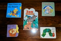 5 toddler baby board books Norfolk, 23509