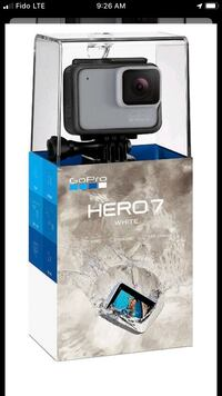 GoPro 7 white $220 firm with proof of purchase (receipt) Toronto, M8V 2S2