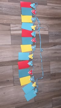 Mickey mouse 1st yr month by month banner Brownsville, 78521