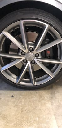 Audi s3 19 inch rims with almost new tires Aliso Viejo