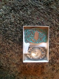 silver-colored and green flip lighter Tulsa, 74110