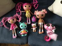 Lot of Lala loopsy dolls and accessories Medford, 11763